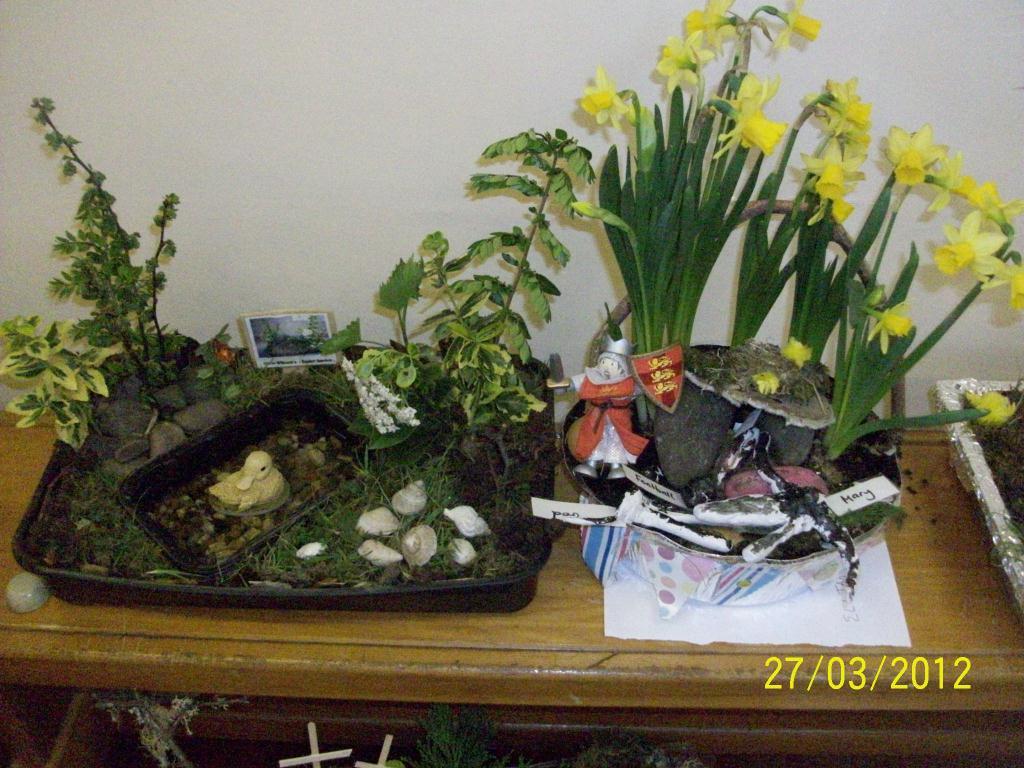 Easter gardens st oswald s school for Easter garden designs